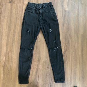 BDG High Waist distressed jeans